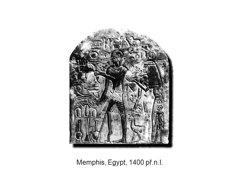 Memphis, Egypt, 1400 př.n.l.