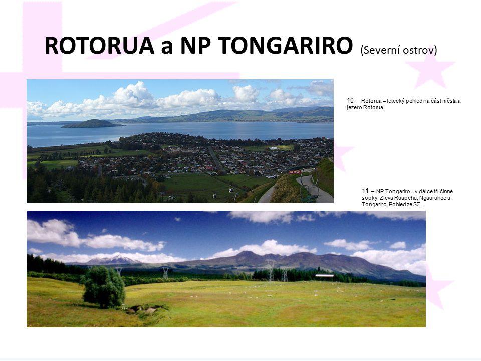 ROTORUA a NP TONGARIRO (Severní ostrov)