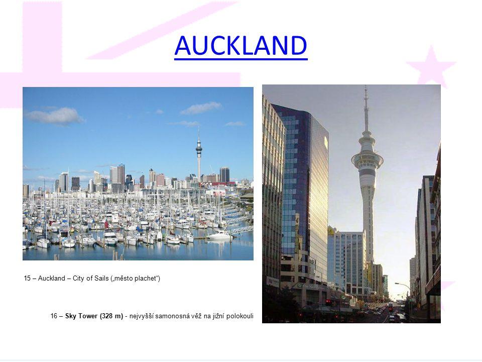 """AUCKLAND 15 – Auckland – City of Sails (""""město plachet )"""