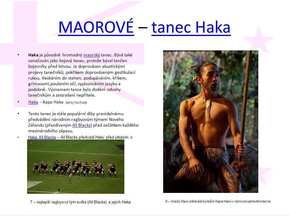 MAOROVÉ – tanec Haka