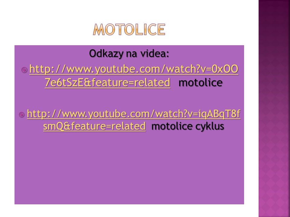 http://www.youtube.com/watch v=0xOO 7e6tSzE&feature=related motolice