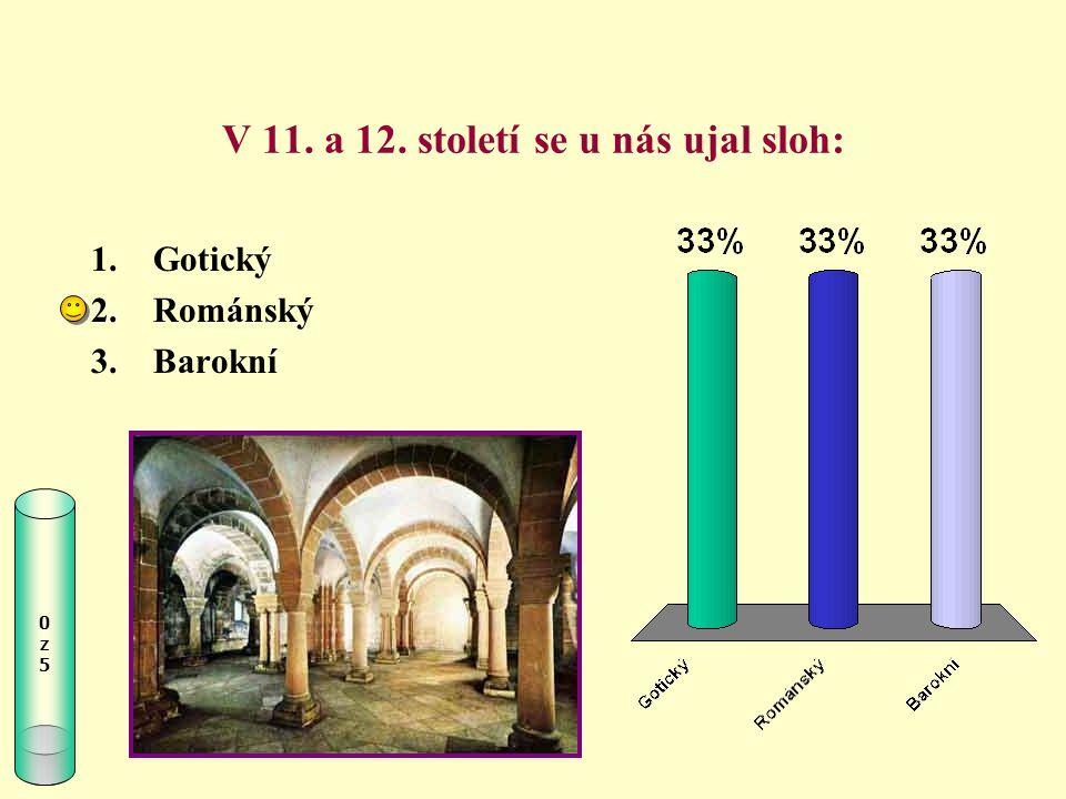 V 11. a 12. století se u nás ujal sloh: