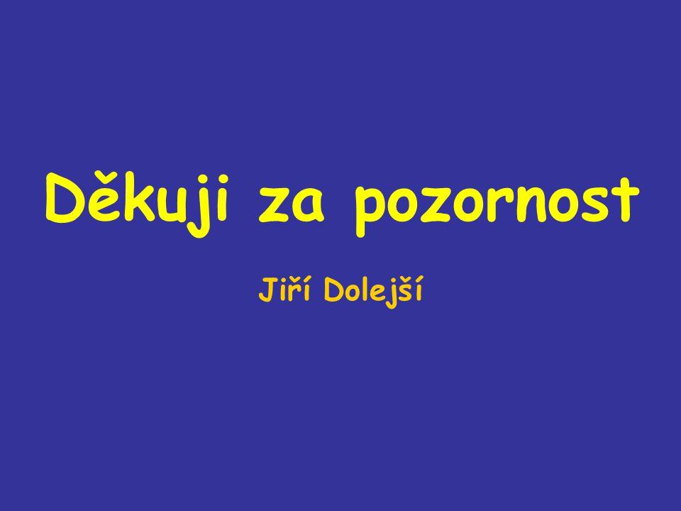 Děkuji za pozornost Jiří Dolejší