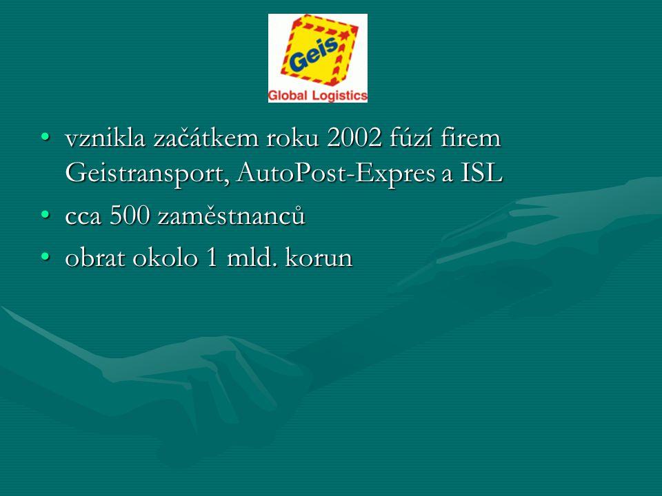 vznikla začátkem roku 2002 fúzí firem Geistransport, AutoPost-Expres a ISL