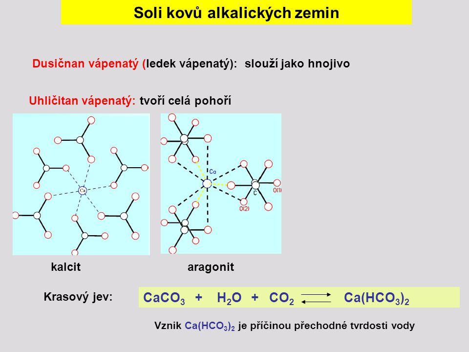 Soli kovů alkalických zemin