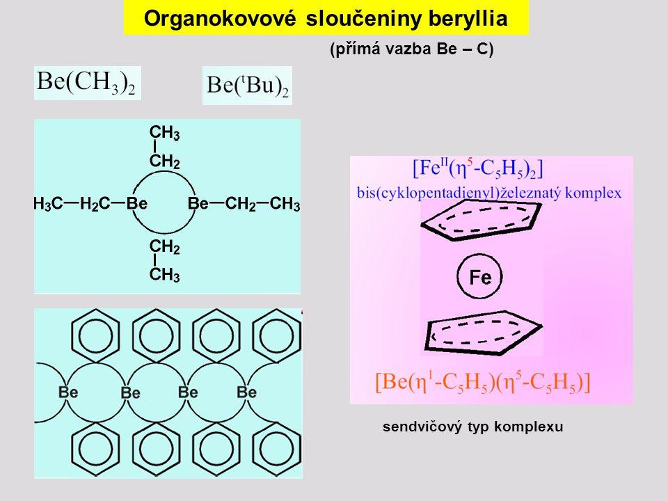 Organokovové sloučeniny beryllia