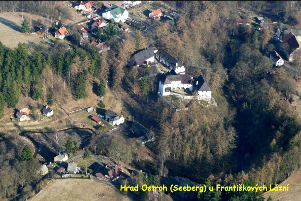 Hrad Ostroh (Seeberg) u Františkových Lázní