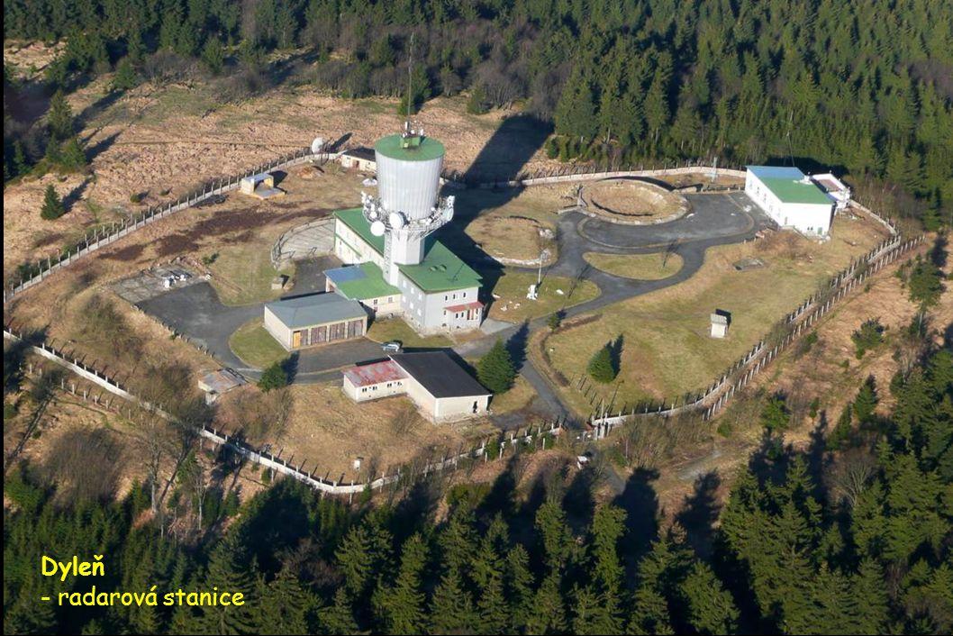 Dyleň - radarová stanice