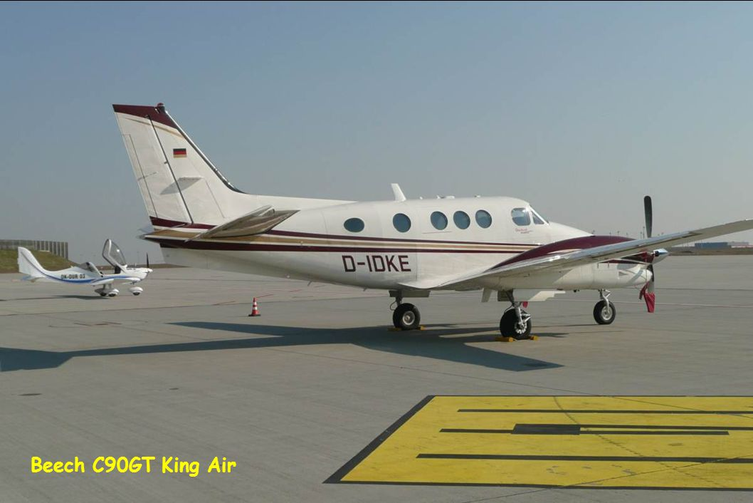 Beech C90GT King Air