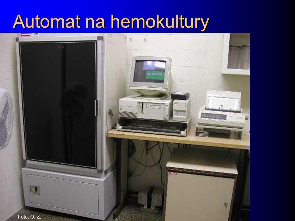 Automat na hemokultury