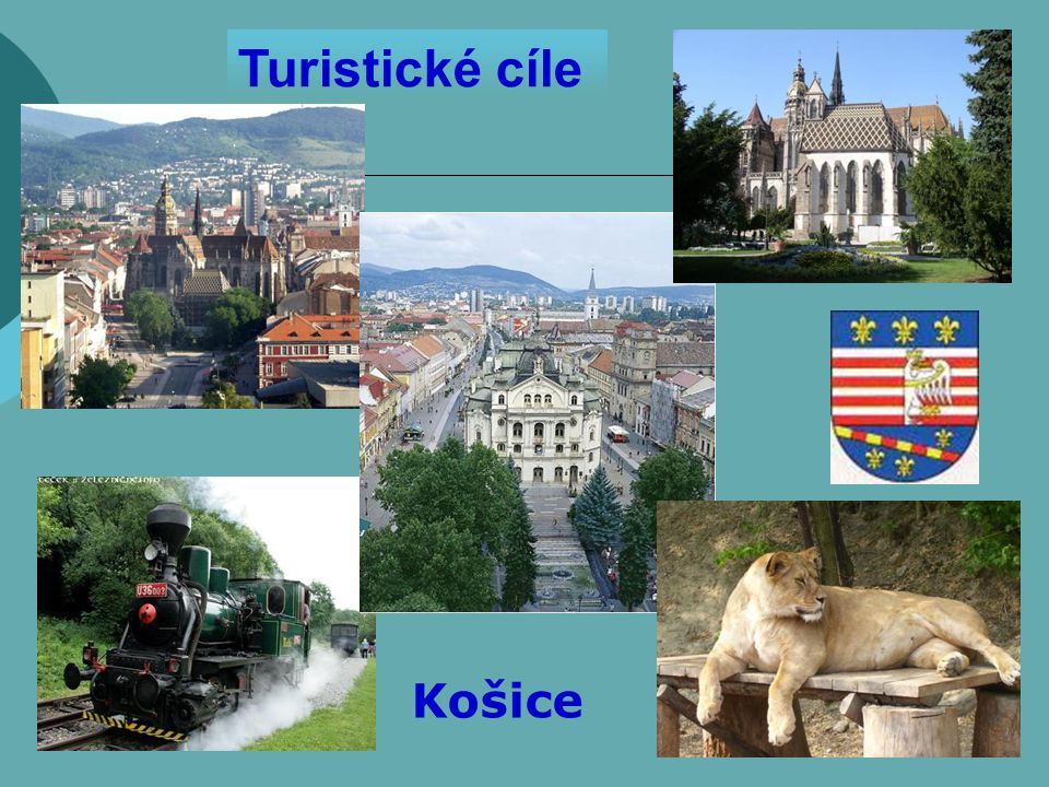 Turistické cíle Košice