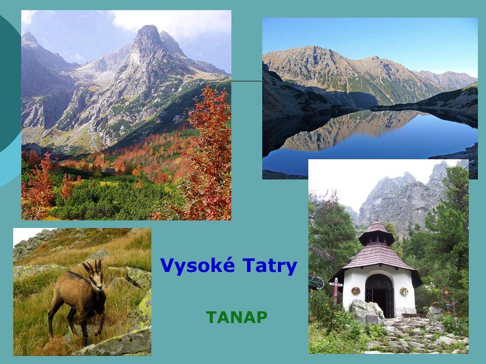 TANAP Vysoké Tatry TANAP