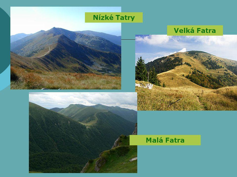 Nízké Tatry Velká Fatra Malá Fatra