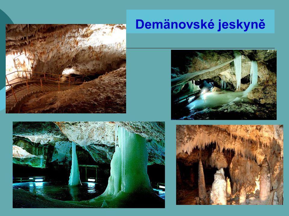 Demänovské jeskyně