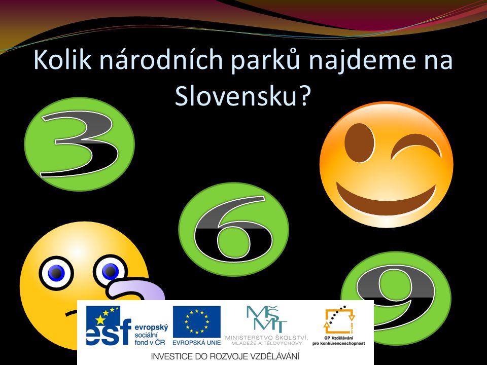 Kolik národních parků najdeme na Slovensku