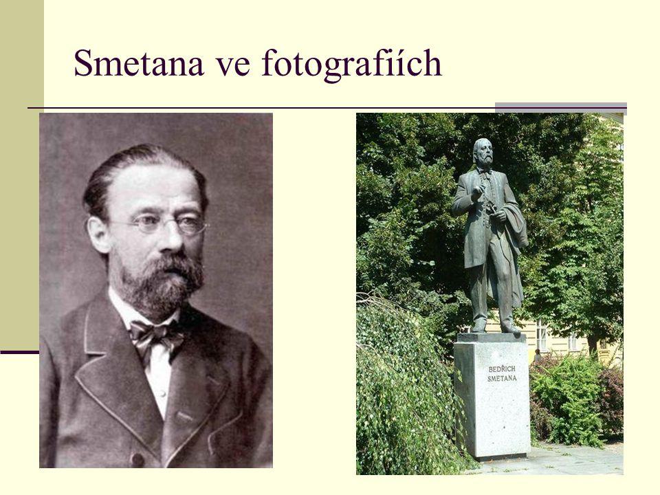 Smetana ve fotografiích