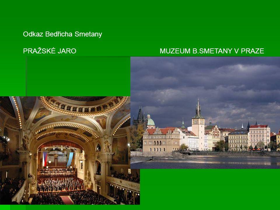 Odkaz Bedřicha Smetany