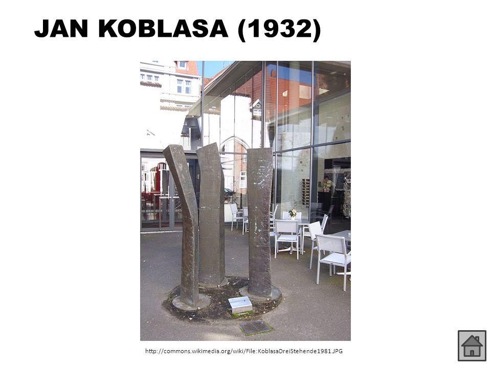 JAN KOBLASA (1932) http://commons.wikimedia.org/wiki/File:KoblasaDreiStehende1981.JPG