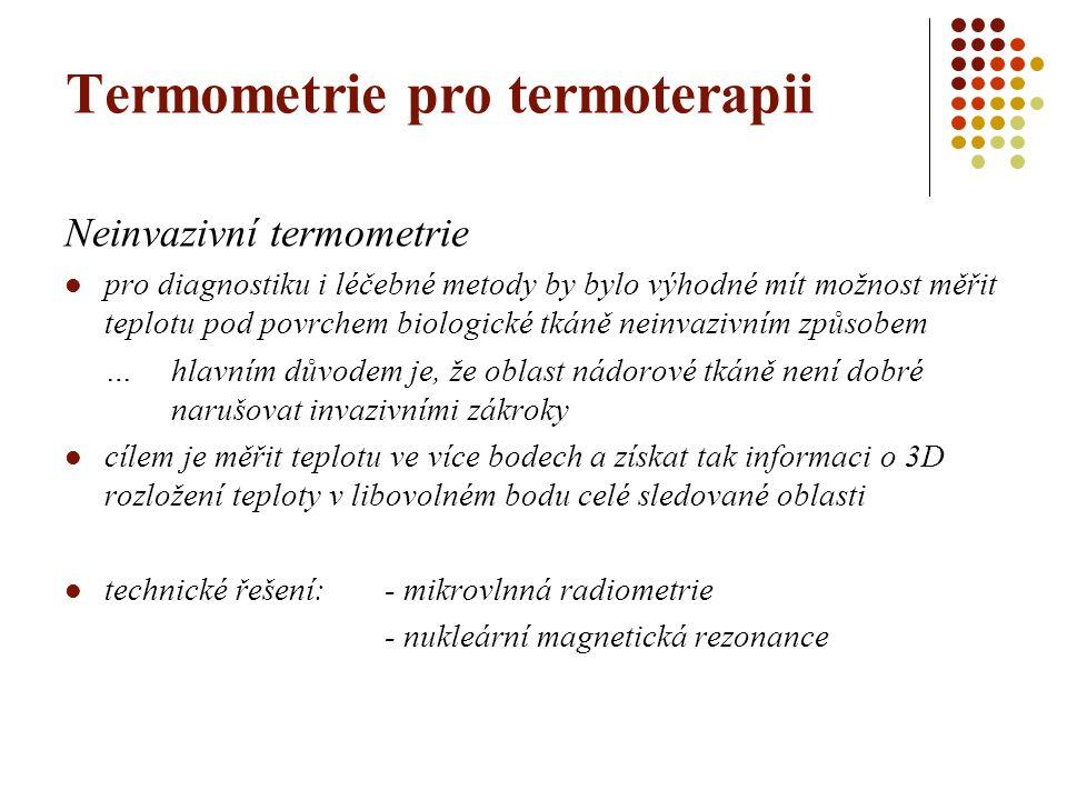 Termometrie pro termoterapii