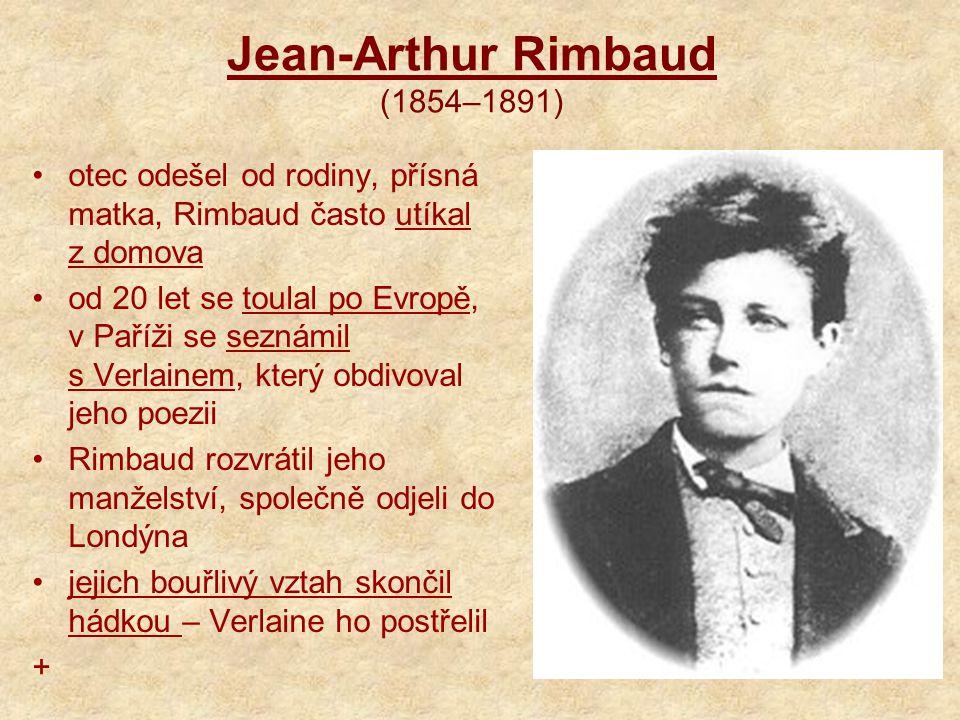 Jean-Arthur Rimbaud (1854–1891)