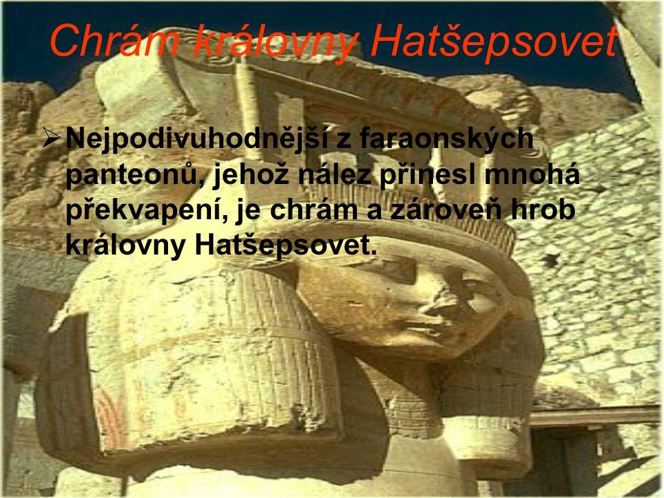 Chrám královny Hatšepsovet