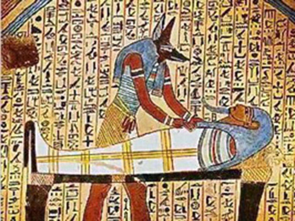 Mumifikace Pro život na onom světě se muselo uchovat tělo nebožtíka.