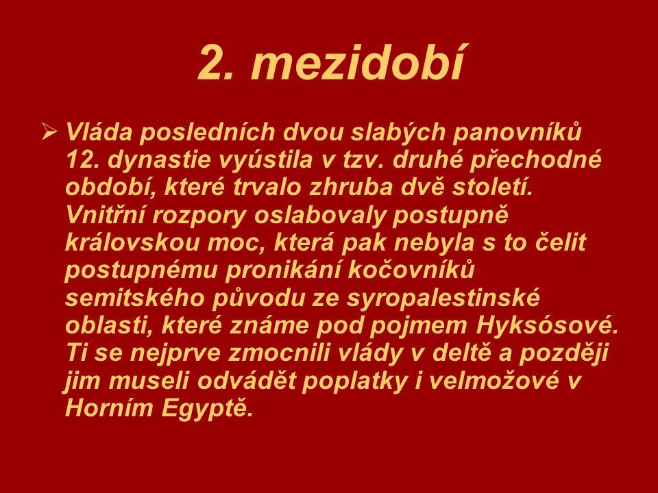 2. mezidobí
