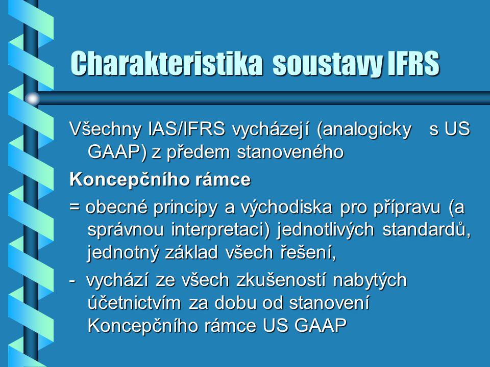 Charakteristika soustavy IFRS