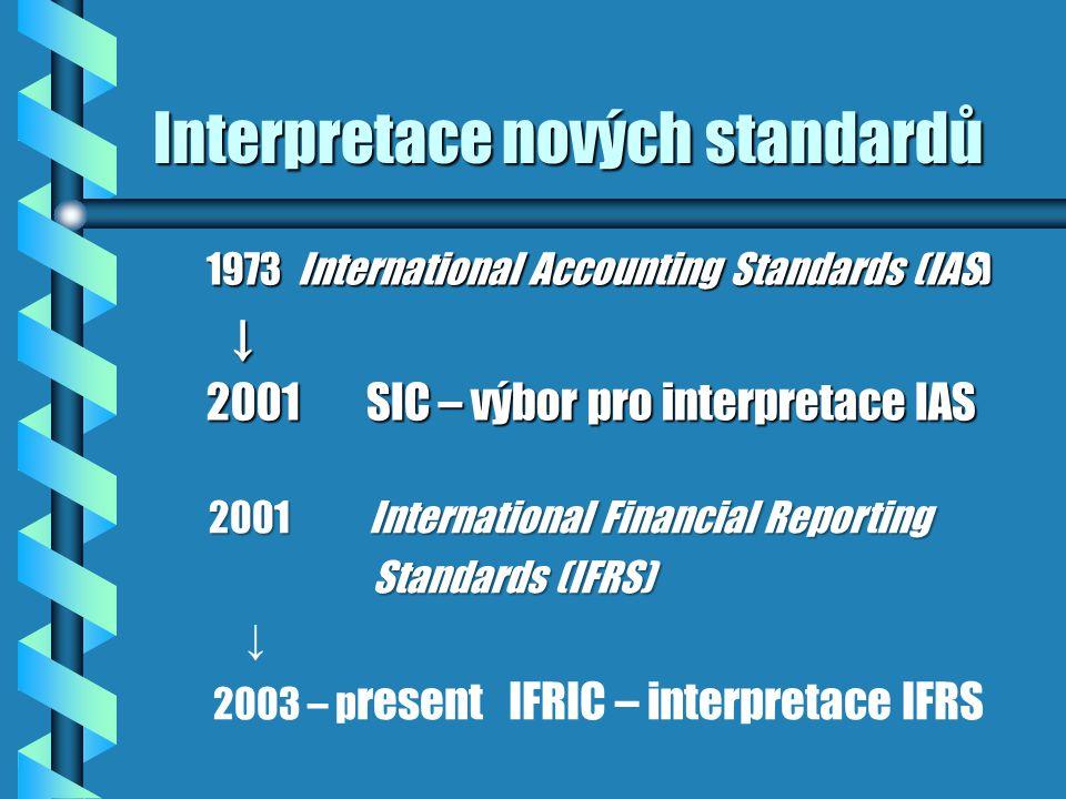 Interpretace nových standardů