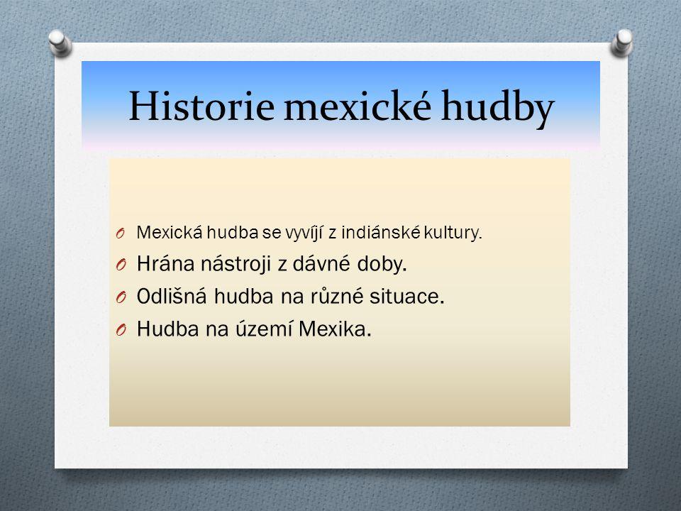 Historie mexické hudby