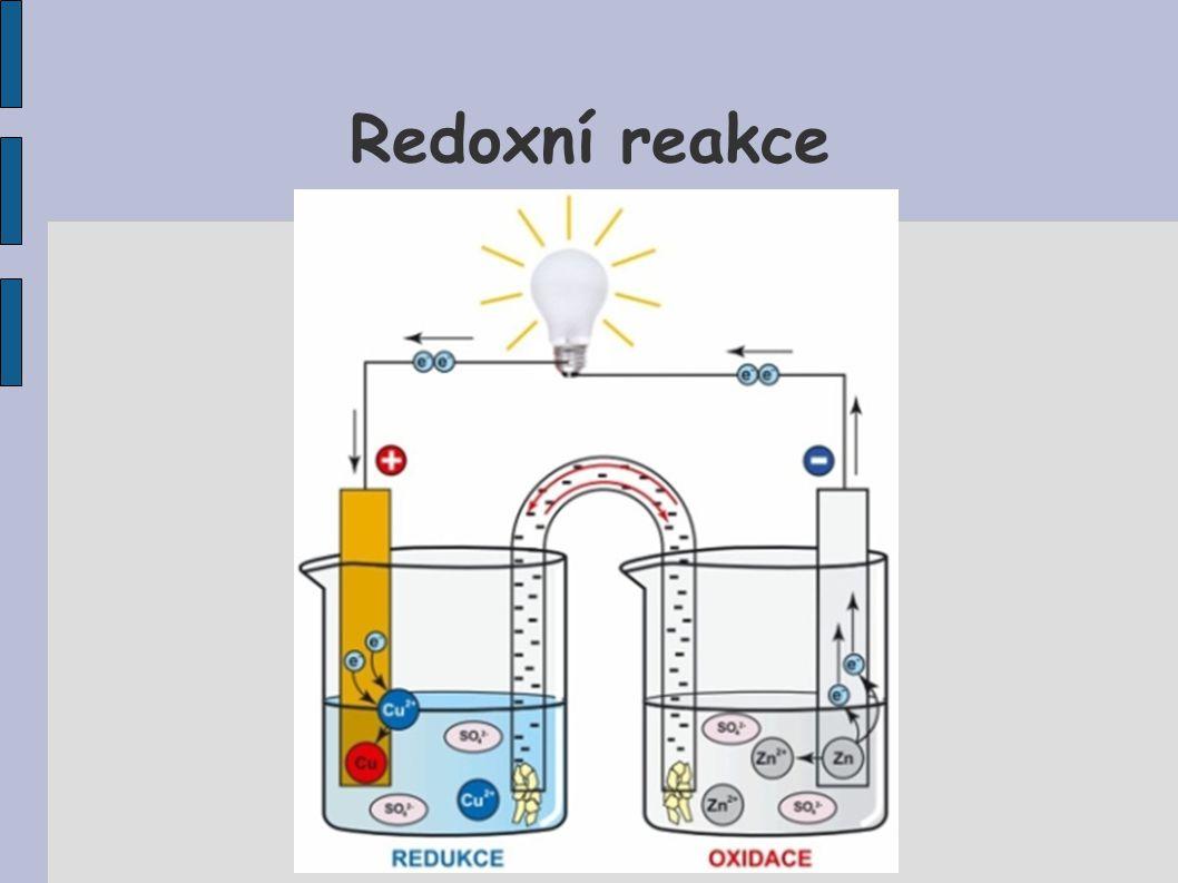 Redoxní reakce