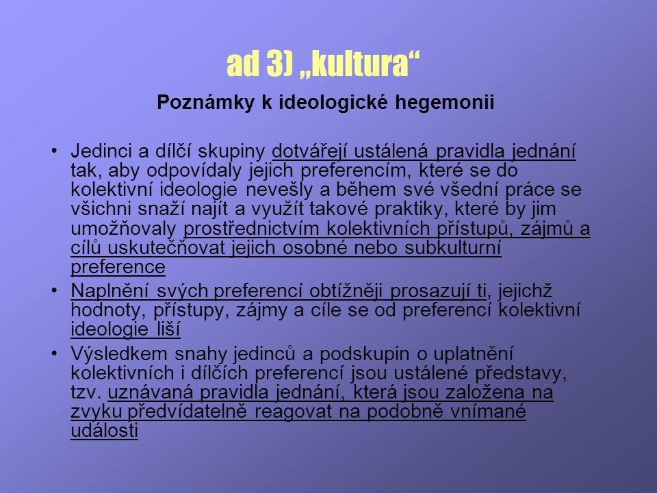 Poznámky k ideologické hegemonii