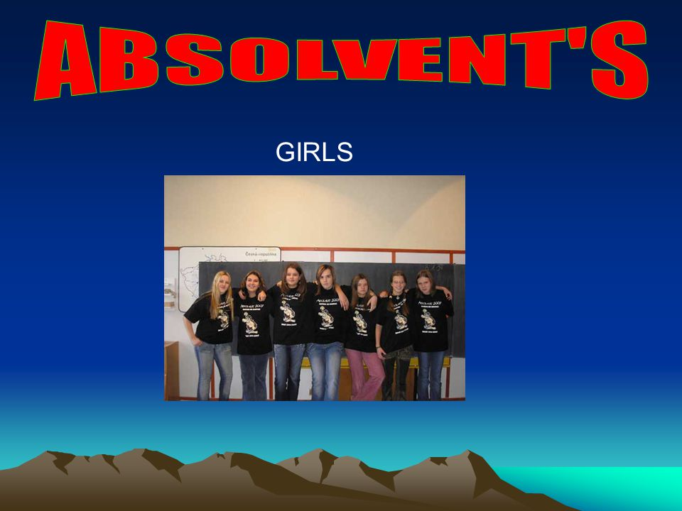 ABSOLVENT S GIRLS