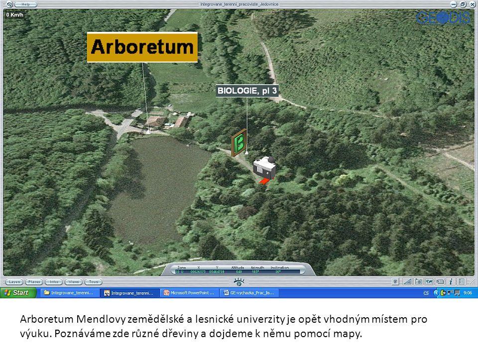 Arboretum Mendlovy zemědělské a lesnické univerzity je opět vhodným místem pro výuku.