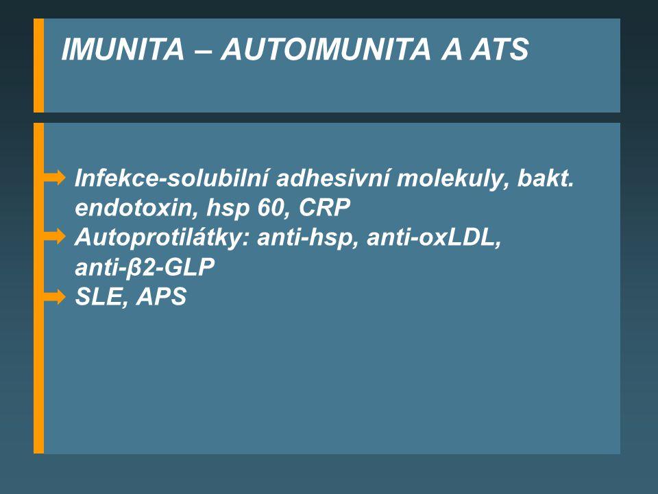 IMUNITA – AUTOIMUNITA A ATS
