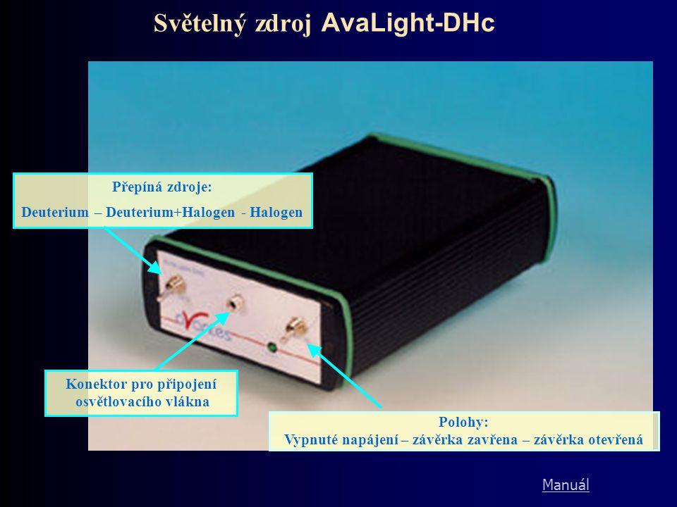 Světelný zdroj AvaLight-DHc
