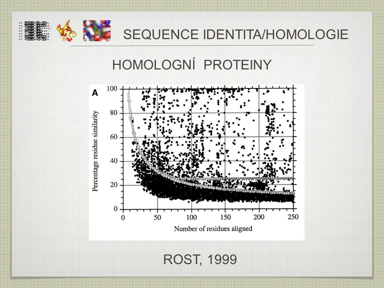SEQUENCE IDENTITA/HOMOLOGIE