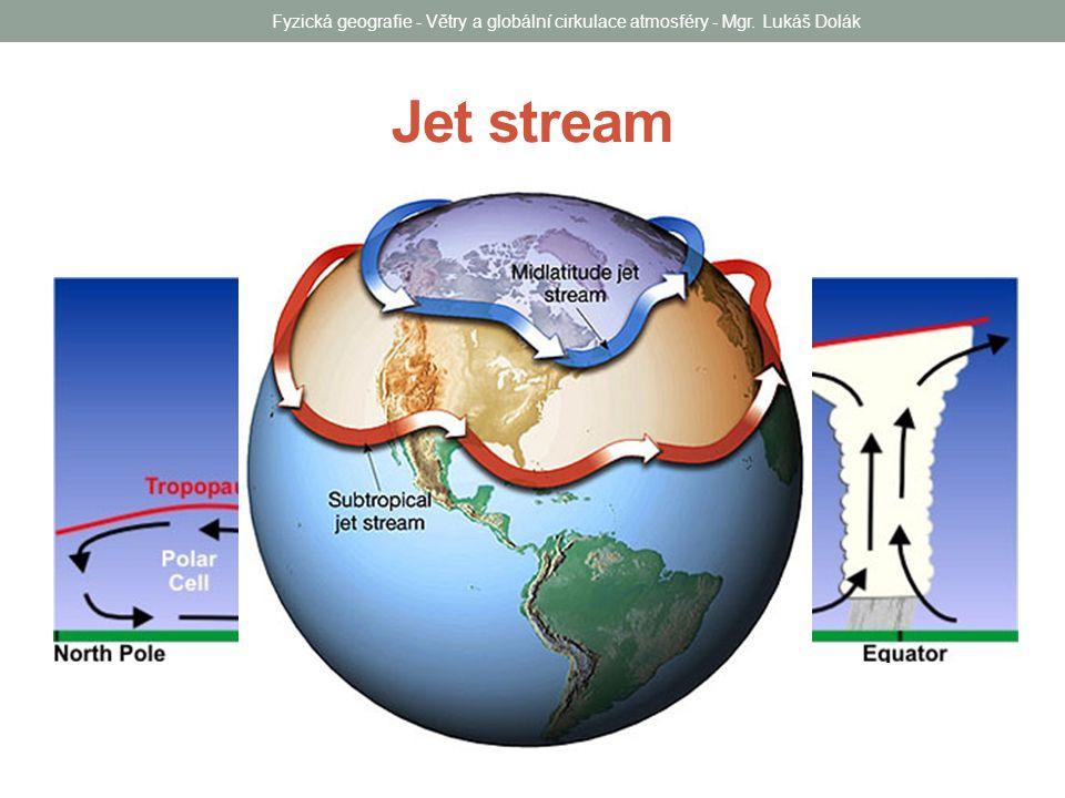 Fyzická geografie - Větry a globální cirkulace atmosféry - Mgr