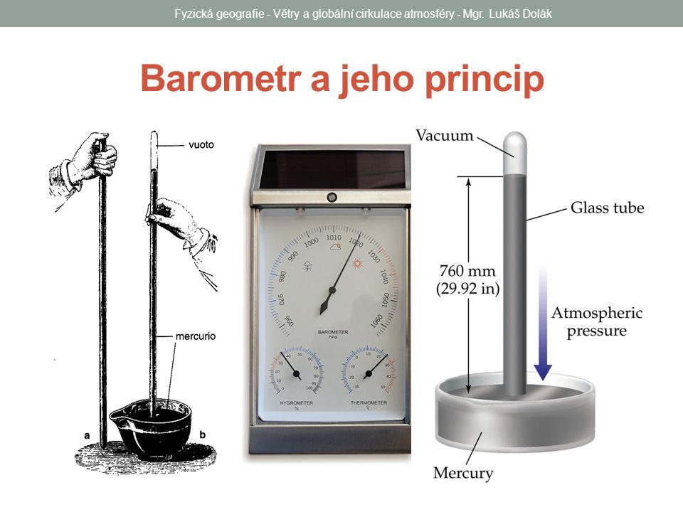 Barometr a jeho princip