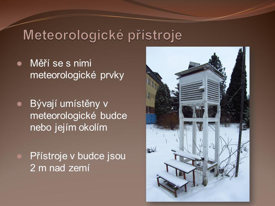 Meteorologické přístroje