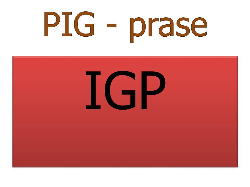 PIG - prase IGP