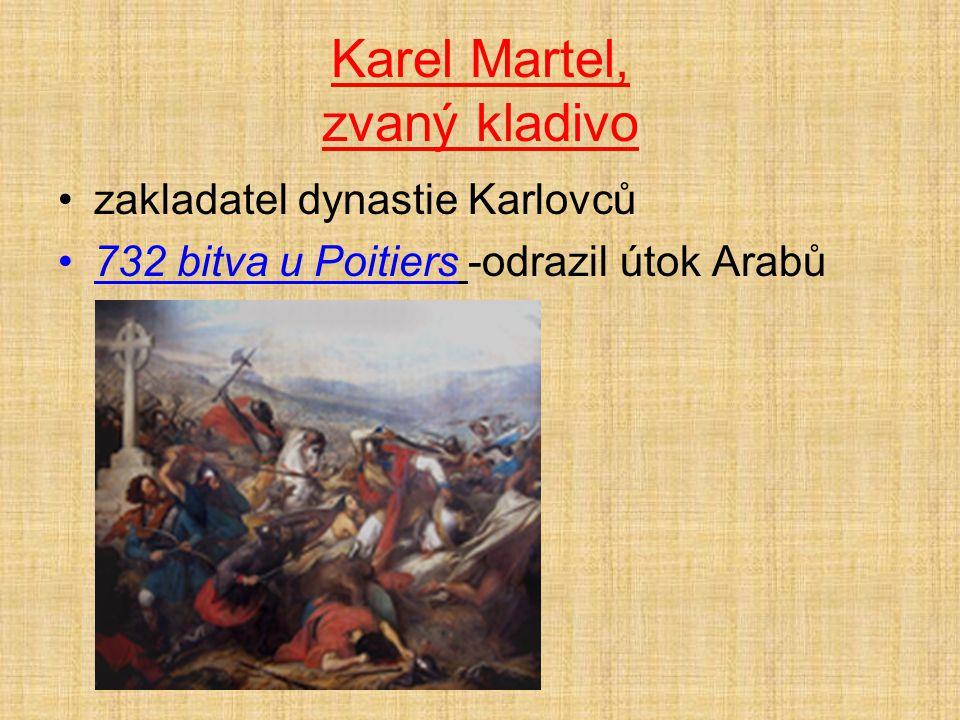 Karel Martel, zvaný kladivo