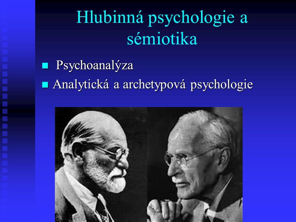 Hlubinná psychologie a sémiotika