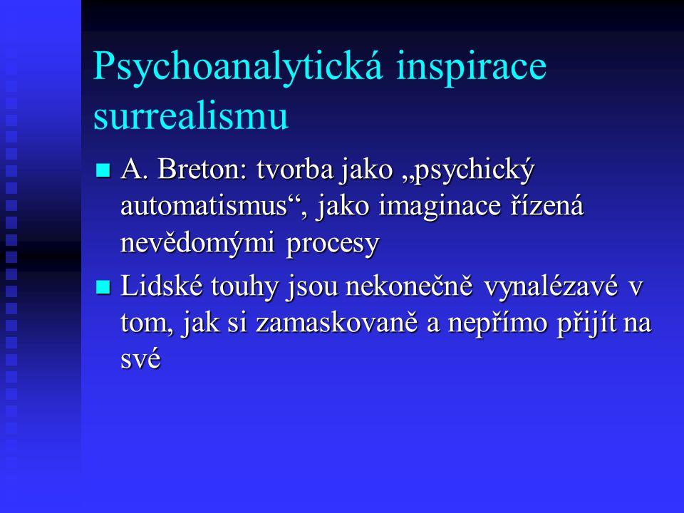 Psychoanalytická inspirace surrealismu