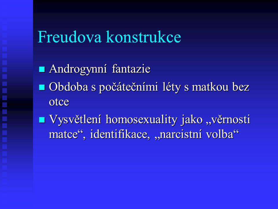 Freudova konstrukce Androgynní fantazie