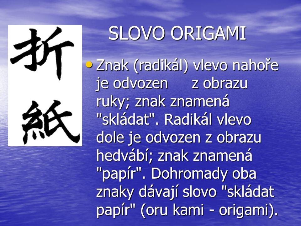 SLOVO ORIGAMI