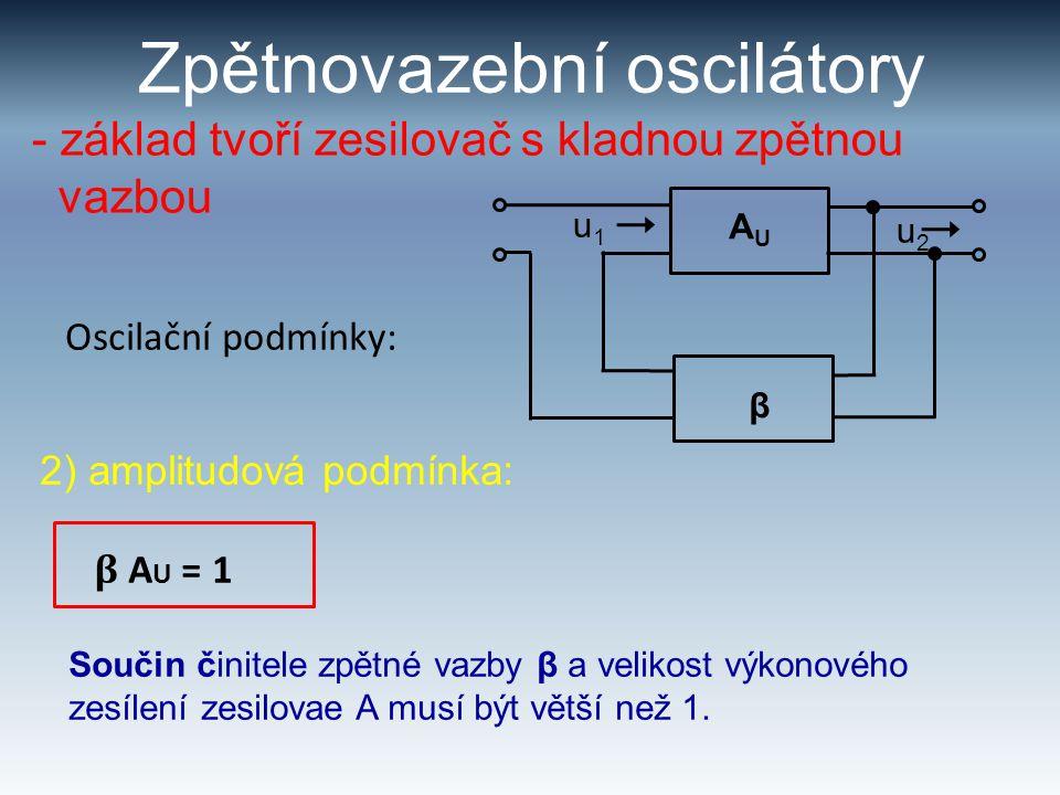 Zpětnovazební oscilátory