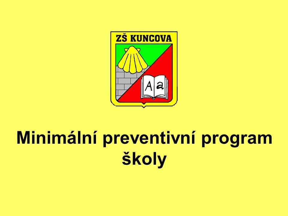Minimální preventivní program školy