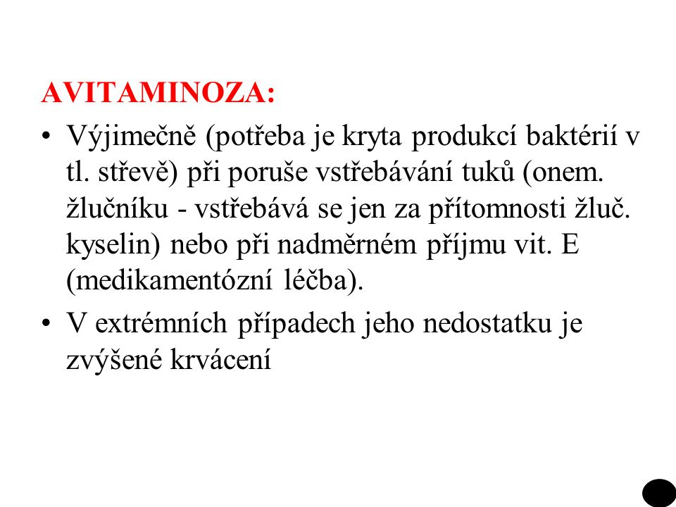 AVITAMINOZA: