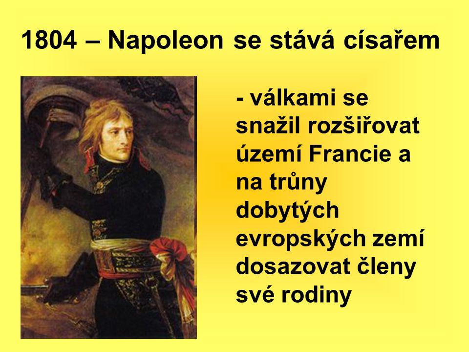 1804 – Napoleon se stává císařem